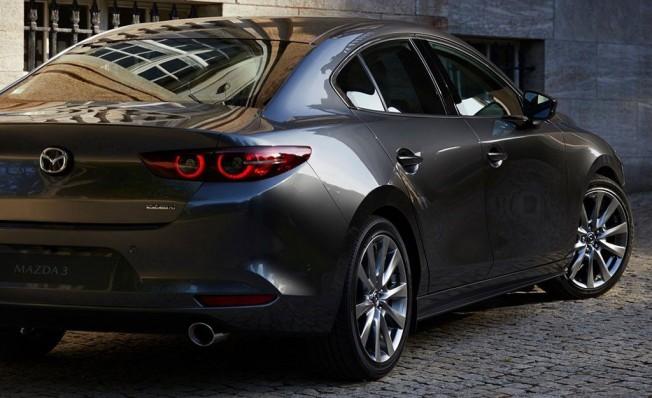 Mazda3 Sedán 2019 - posterior