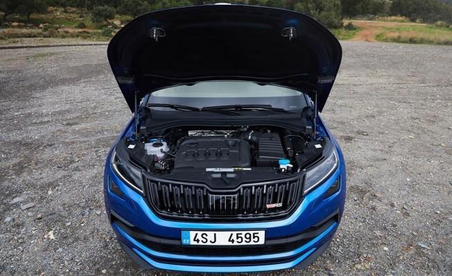 Skoda Kodiaq RS - motor