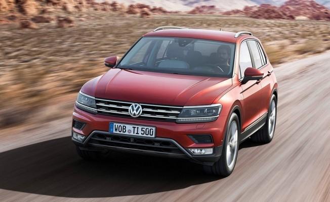 Volkswagen Tiguan - frontal