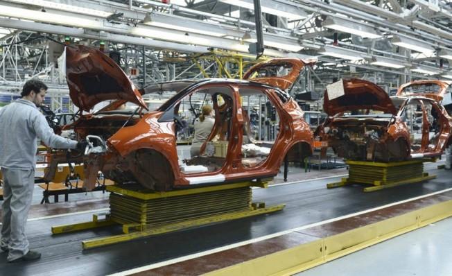 Producción de coches en España en noviembre de 2018