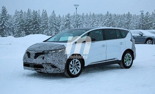 Renault Espace 2020 - foto espía