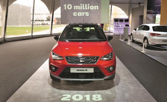 El vehículo 10 millones de SEAT en Martorell ha sido un SEAT Arona