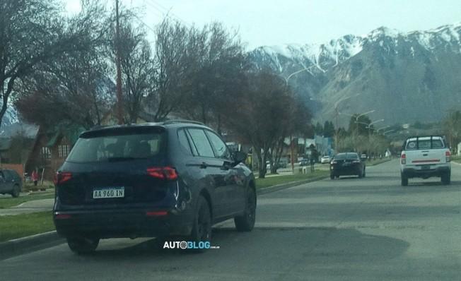 SEAT Tarraco - foto espía posterior