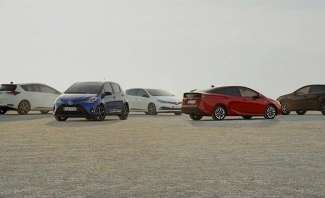 Coches híbridos de Toyota