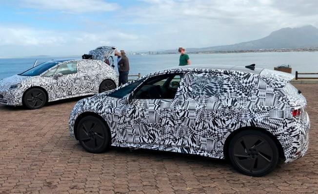 Volkswagen I.D. - foto espía