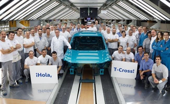Producción del Volkswagen T-Cross en Navarra
