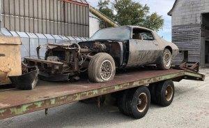 Descubierto el Pontiac Trans Am de la última película de Steve McQueen