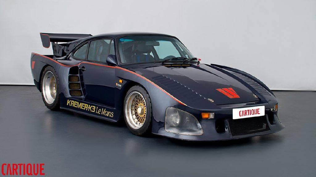 El único Porsche 935 Kremer K3 que fue homologado para calle