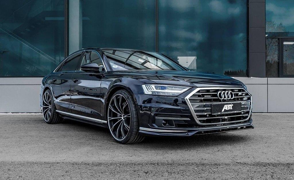 ABT Sportsline hace del Audi A8 una berlina más picante y deportiva