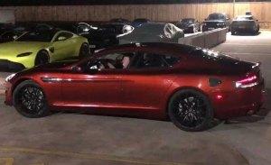 Aston Martin muestra el primer prototipo de validación del Rapide E