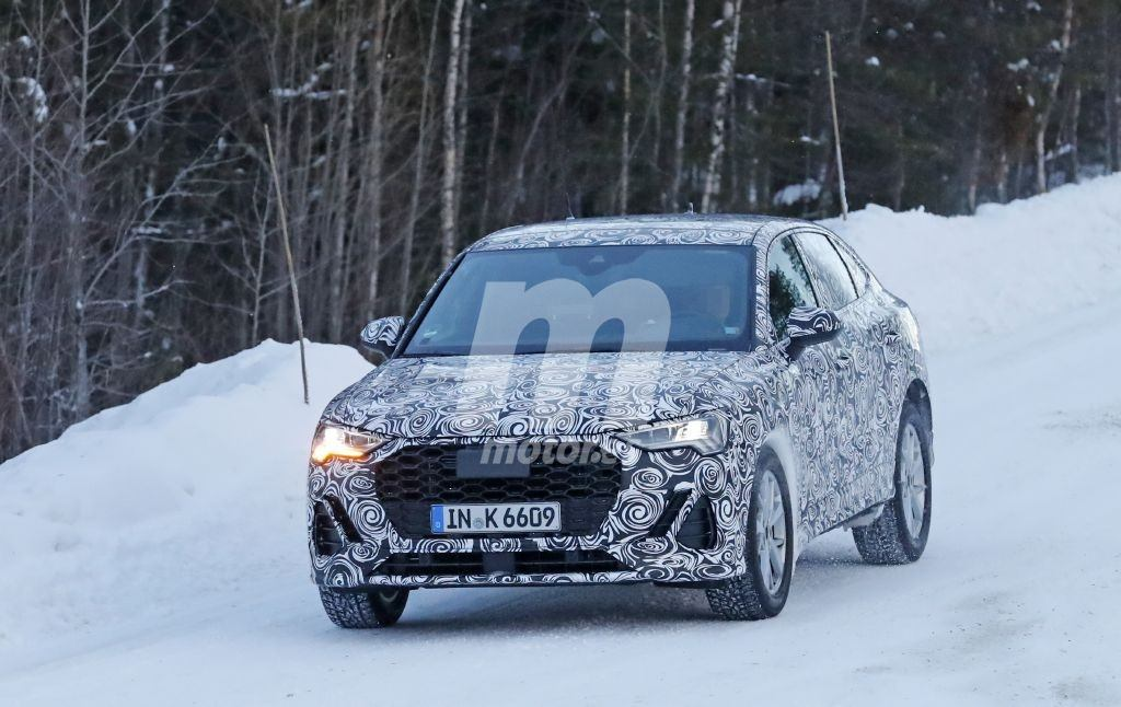 El nuevo Audi Q4 continúa con las pruebas de invierno en Suecia
