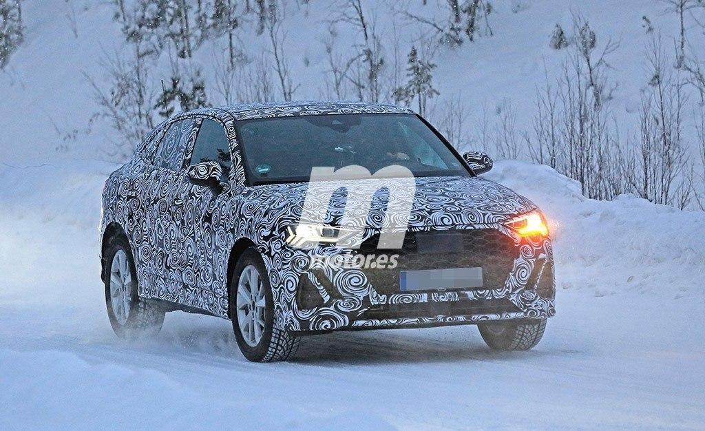 El nuevo Audi Q4 se pone a prueba enfrentándose al frío y la nieve