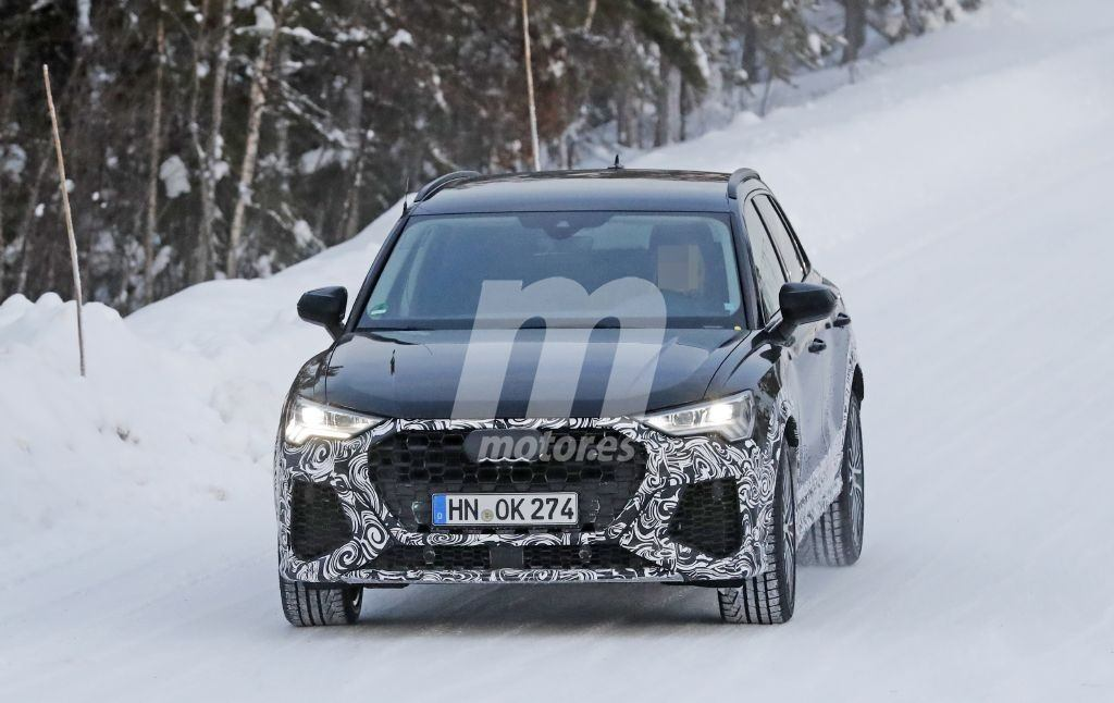 Las pruebas de puesta a punto del nuevo Audi RS Q3 avanzan con su debut previsto en 2019