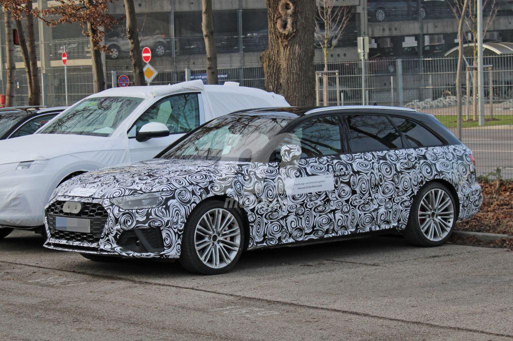 El nuevo Audi S4 Avant facelift cazado por primera vez
