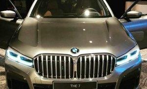 Filtrado el frontal del renovado BMW Serie 7 2020