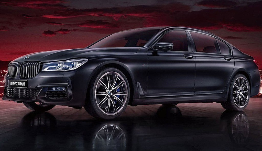 BMW Serie 7 Black Fire Edition, una despedida por todo lo alto en China