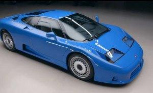 El espectacular Bugatti EB110 visita el programa de Jay Leno