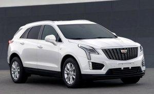 El renovado Cadillac XT5 2020 filtrado en China
