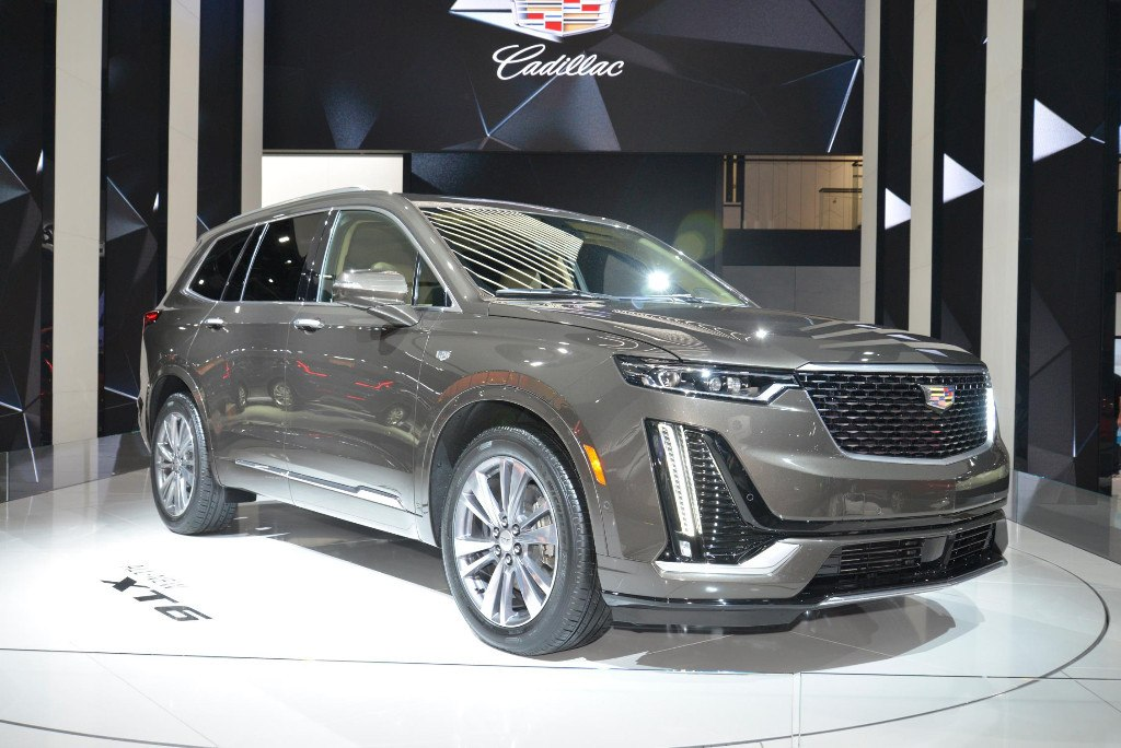 El nuevo Cadillac XT6 en vivo desde su stand en Detroit 2019