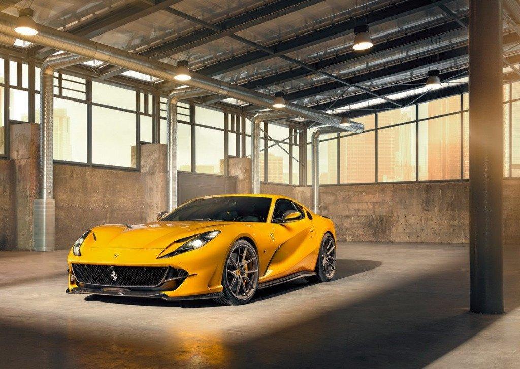 Novitec presenta un atractivo kit de mejoras aerodinámicas para el Ferrari 812