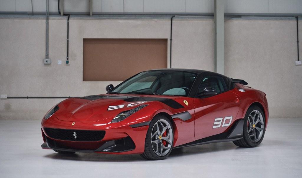 El enigmático Ferrari SP30 Arya será subastado en Retromobile 2019