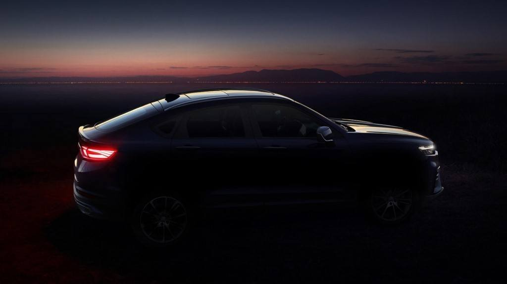 Geely FY11: adelanto del primer SUV coupé de la firma china