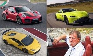 Jeremy Clarkson nombra los 5 mejores coches de 2018