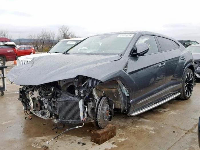 Ya existe un Lamborghini Urus siniestrado y se vende barato