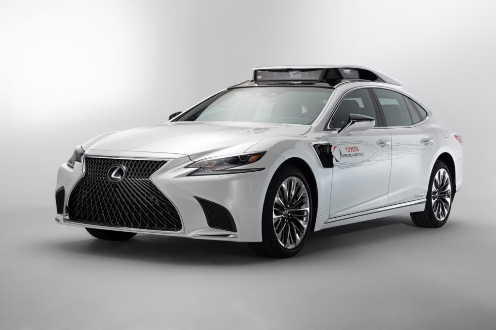 Lexus y Toyota llevan la cuarta generación de su tecnología autónoma al CES 2019
