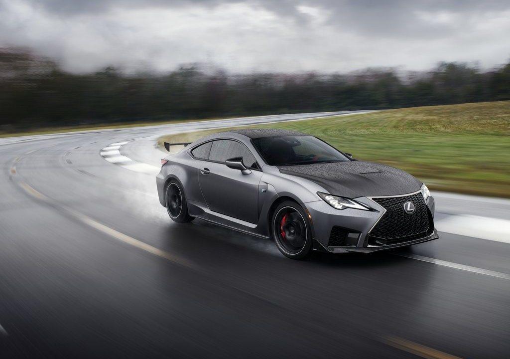 El nuevo Lexus RC F Track Edition 2020 llega a Detroit plagado de carbono