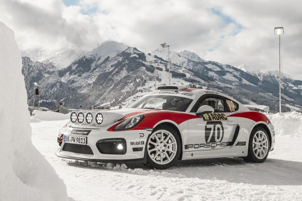 Luz verde para el Porsche 718 Cayman GT4 Clubsport R-GT