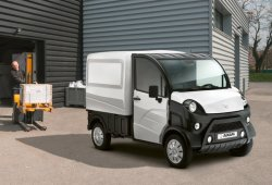 Aixam e-TRUCK, un vehículo sin carné 100% eléctrico para profesionales