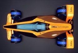Así ve McLaren la Fórmula 1 de 2050