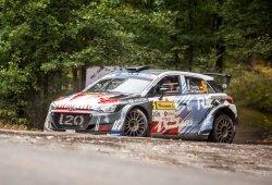 Dani Sordo, con un i20 R5 en el Rally Serras de Fafe