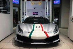 Así luce el exclusivo Ferrari 488 Pista 'Piloti Ferrari' en vivo