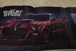 Filtrado el nuevo Mustang Shelby GT500 y sus primeros datos oficiales