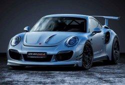Gemballa GTR 8XX Evo-R, llevando al extremo el Porsche 911 Turbo