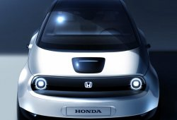 Honda adelanta un boceto del prototipo del Urban EV que debutará en Ginebra 2019