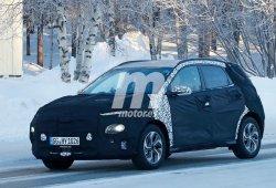 El nuevo Hyundai Kona Híbrido se deja ver en el norte de Europa