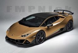 Así será el teórico Lamborghini Huracán EVO Performante