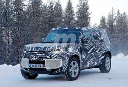 Los prototipos del Land Rover Defender 110 ya se enfrentan a la nieve