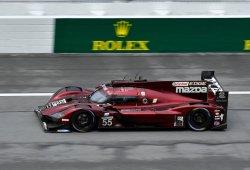 Mazda asoma la patita en los segundos libres de Daytona