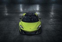 McLaren desvela el nuevo 600LT Spider, un Longtail más para la colección