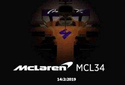 ¿Se le escapa a McLaren una imagen del nuevo MCL34?