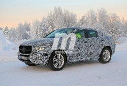 El nuevo Mercedes Clase GLE Coupé no le teme al frío, su desarrollo continúa