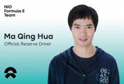 NIO Fórmula E repite con Ma Qing Hua de piloto reserva