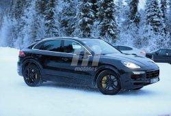 El nuevo Porsche Cayenne Coupé Turbo se deja ver por primera vez