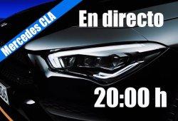 Sigue en directo la presentación del nuevo Mercedes CLA 2019