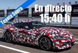 Sigue en directo la presentación del nuevo Toyota Supra 2020