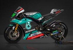 El equipo Petronas Yamaha SRT de MotoGP se presenta en Malasia